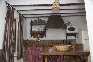 Cocina Alojamiento rural El Pontón