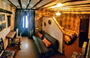 Dormitorio doble Alojamiento rural El Pontón