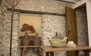 Sala de estar Alojamiento rural El Pontón